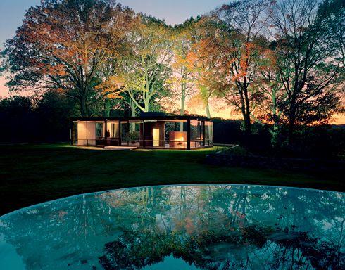 The Philip Johnson Glass House