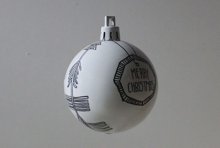 Various ornaments cover the surface of the balls.