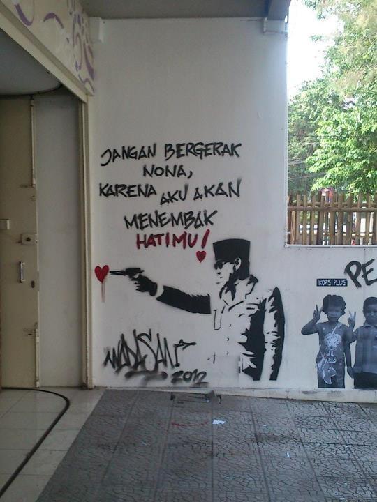 Creativity of street art