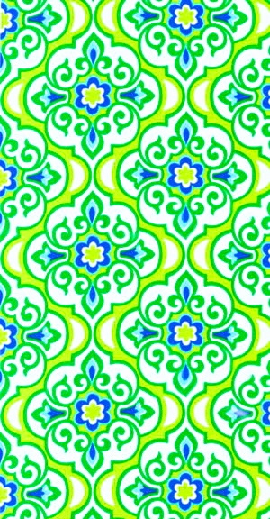 Blue And Green Living Room Ideas: Blue And Green Patterns