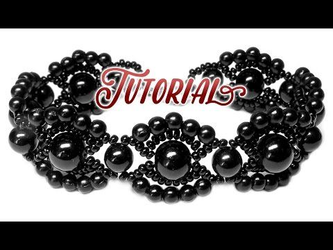 Tutorial: Vintage beaded bracelet - All