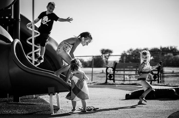 Bathurst Family Photographer - Documentary Family Photography- at the playground