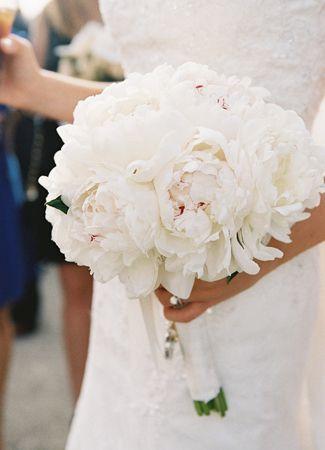 Pion bukett bröllop