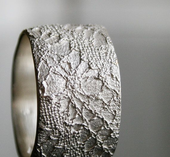 White Lacey No. 17  sterling silver lace ring   made to by vdeux, €94.00