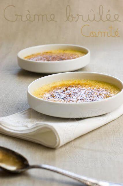Crèmes brûlées au Comté, cumin et piment d'Espelette by les petits plats de trinidad