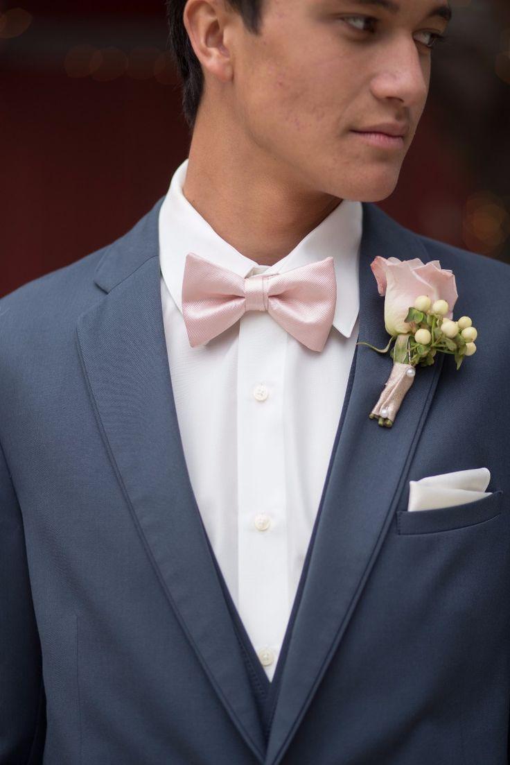 Men Cardigans Bow Tie