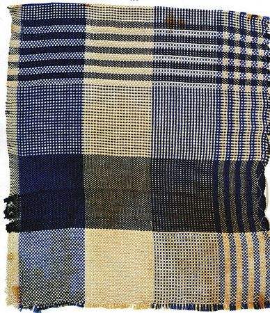 Gunta Stölzl. Sample of curtain material for the firm 'Polytex' which carried out upholstery and drapery fabrics under contract with (since 1930) and according to patterns made at the Bauhaus weaving workshop Various samples in different colours 1928-30 Bauhaus-Archiv Berlin