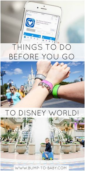 Things to do before you go to Disney World!