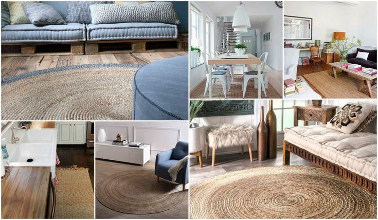M s de 25 ideas incre bles sobre alfombra de yute en - Alfombras rusticas ...