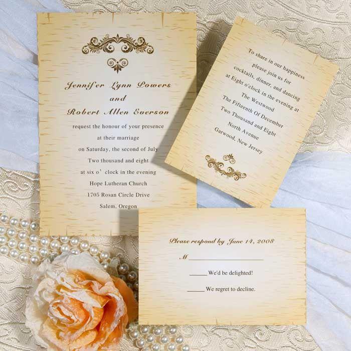 pocket wedding invites australia%0A vintage gold wedding invites EWI