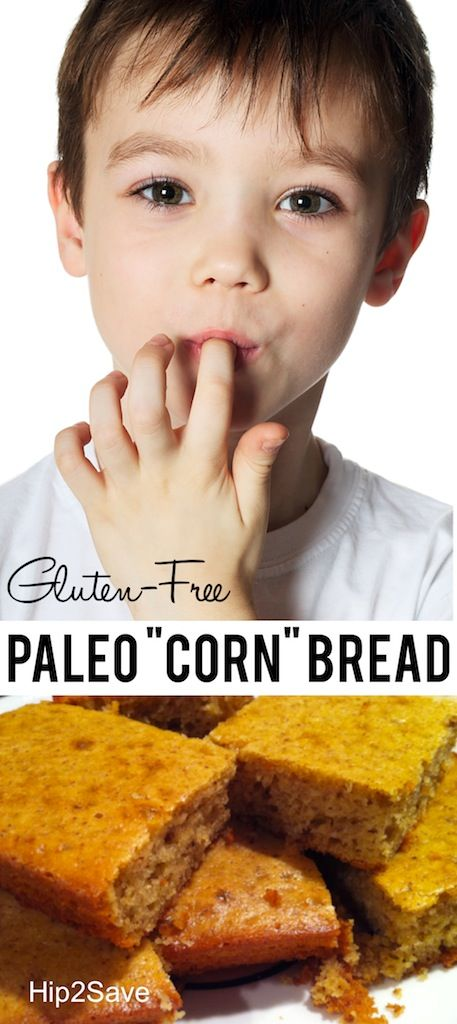 Gluten-Free Paleo Honey Cornbread #glutenfree & #paleo!