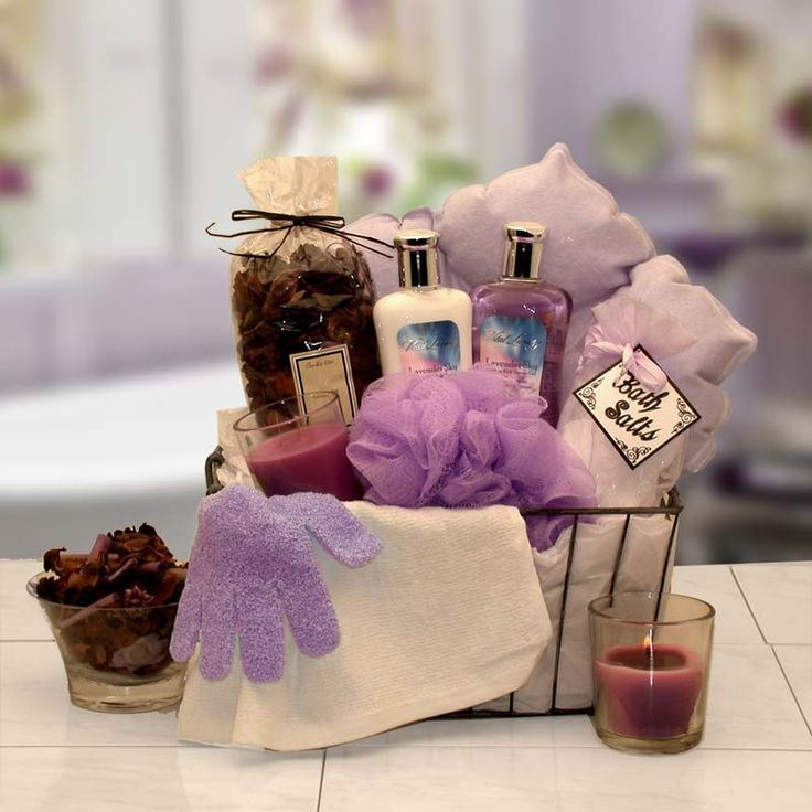 Relaxation Bath Gift Basket