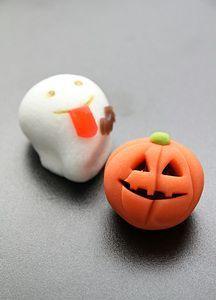 Halloween wagashi