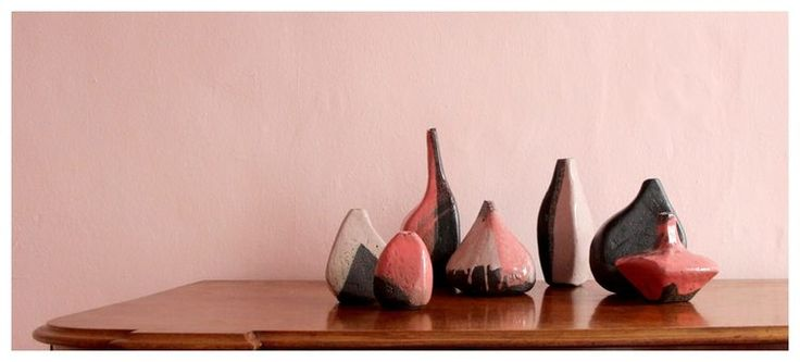 Clementina van der Walt | 'Dreaming of Cherry Blossoms' (I - VII) | Glazed Hand-built Earthenware | Prices and Sizes Vary