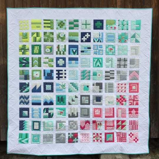 SCHNIG SCHNAG - Quilts and more: Blogger's Quilt Festival {Large Quilt}