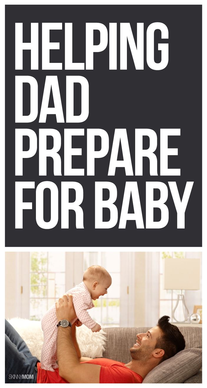 Help your Dad-to-be prepare for your baby with these tips!