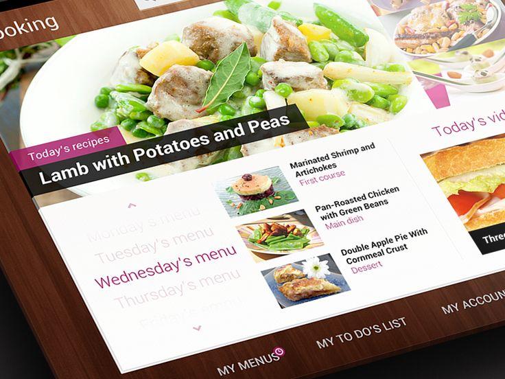 Cooking iPad App