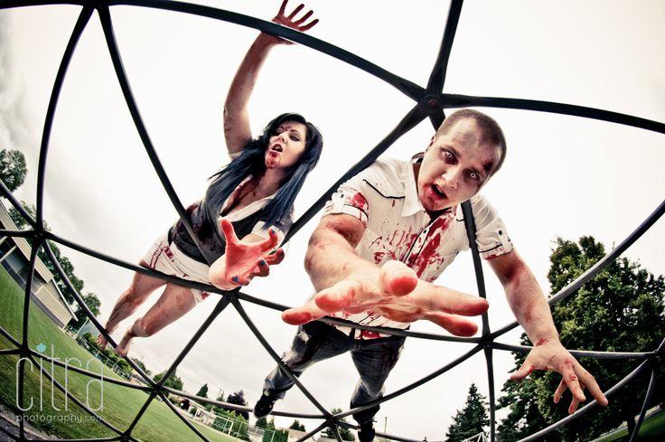 Zombie Photo Shoot