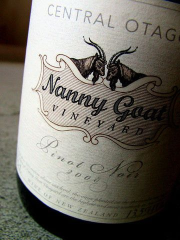 Nanny Goat wines.. love the logo #unique #experiences #newzealand #gourmet #journeys