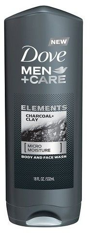 Dove Men+Care Dove Men Care Charcoal Clay Body and Face Wash - 18oz