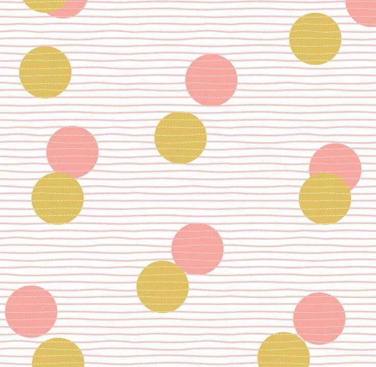 Laat je muren schitteren met deze nieuwe frisse dessin uit de Sparkling collectie van Roomblush. We loooove confetti!