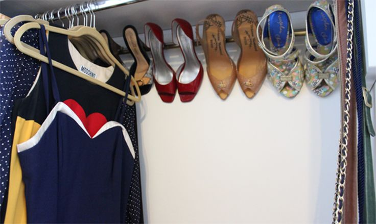 ντουλάπα υπνοδωματίου με παπούτσια