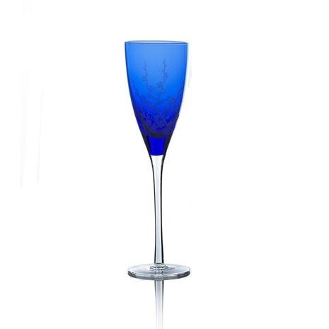 Crystal Champagne Flute, 8 oz .