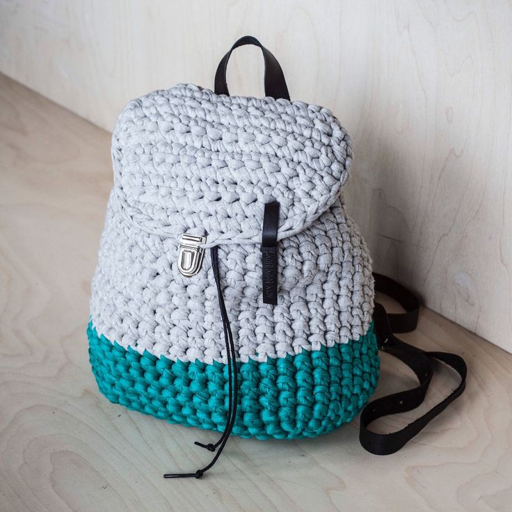 You can always request your personal customization! Our backpacks are compact and spacious! We care of nature so we use recycled t-shirt yarn! Check out now and have 10% discount with this code: KNOT10