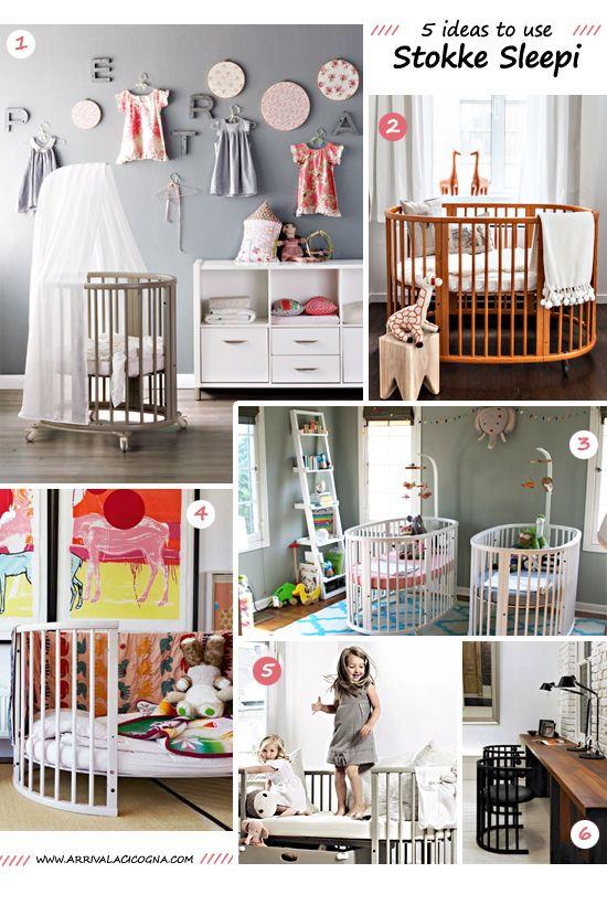 cribs nurseries and inspiration on pinterest. Black Bedroom Furniture Sets. Home Design Ideas