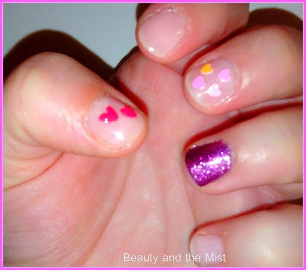 Beauty and the Mist - everything about beauty: Pink manicure for Valentine's Day