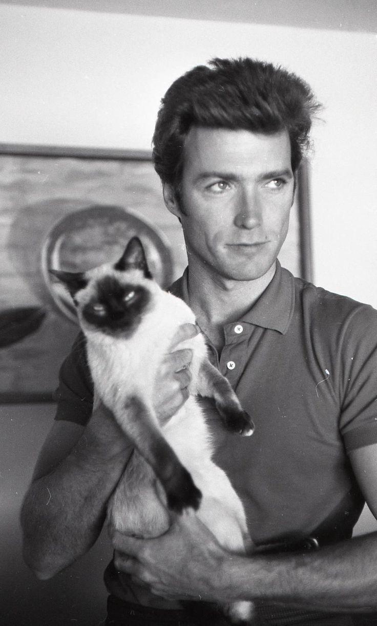 Αποτέλεσμα εικόνας για Clint Eastwood and cat