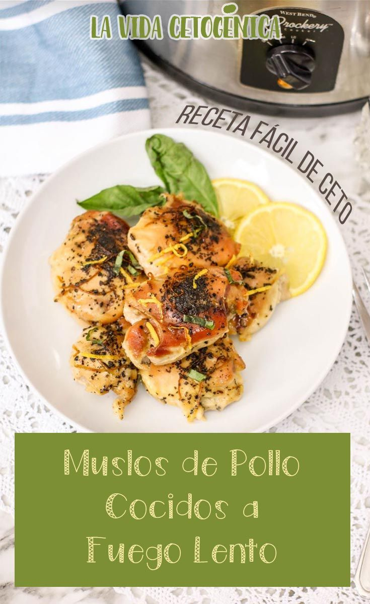 recetas de keto diet muslo de pollo
