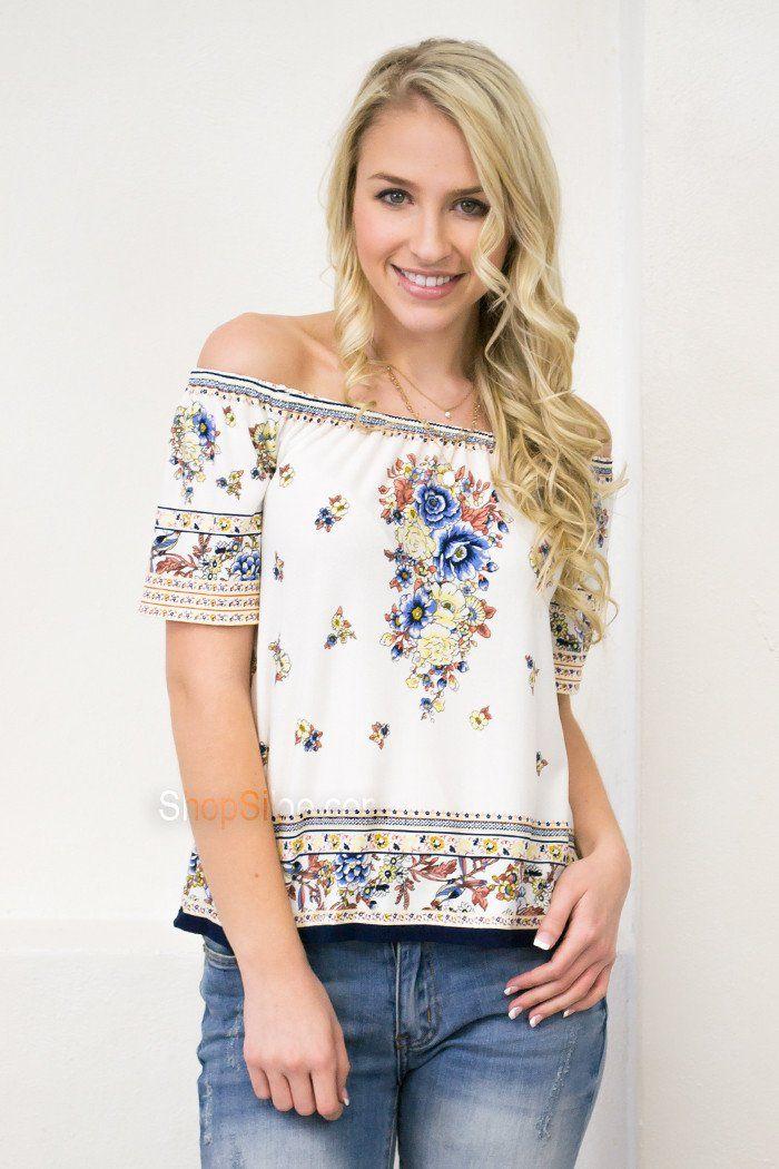 Azteca Floral Top