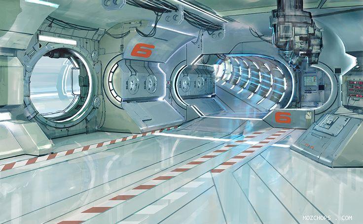 Station Interior 4 by m0zch0ps.deviantart.com on @DeviantArt