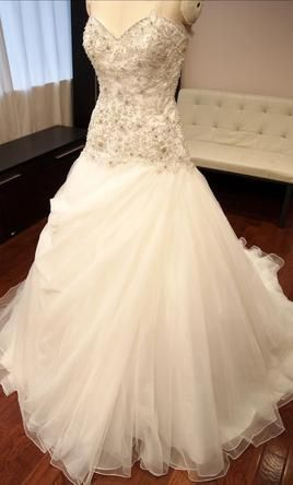 Allure Bridals 8901 12: buy this dress for a fraction of the salon price on PreOwnedWeddingDresses.com