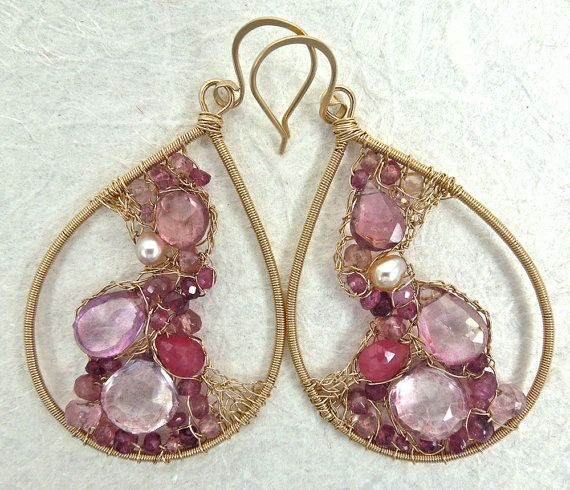 Pink Lemonade by twotightlywound on Etsy, $300.00. Love. So beautiful