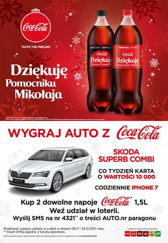 Świąteczna Loteria Coca-Cola   Zgarniajto.pl