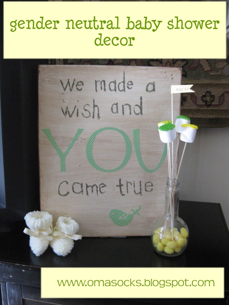 """""""We made a wish and you came true"""" sign. SO going to make this for the baby shower. And great to hang in the baby's room later."""