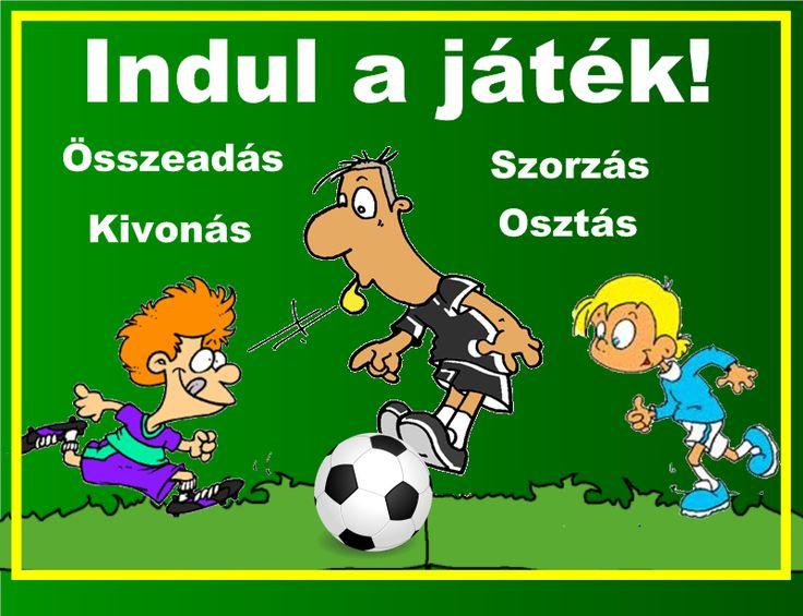 Fotó itt: Írásbeli műveletek focival 3-4. osztály interaktív tananyag - Google Fotók