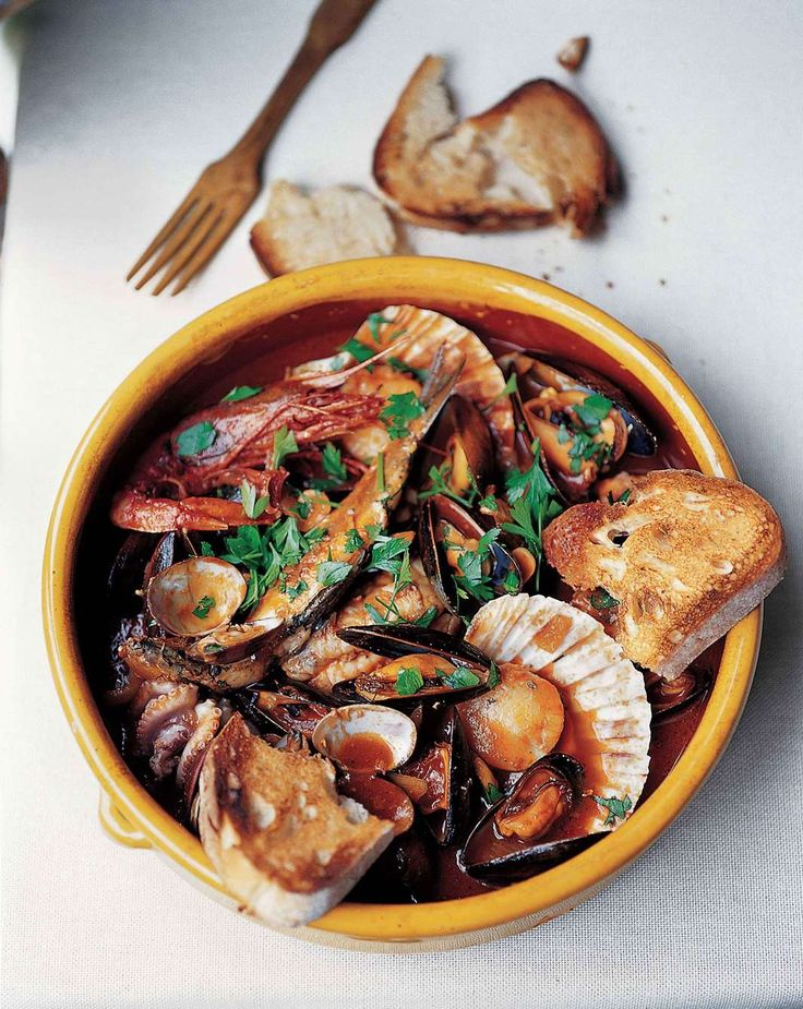 Fish stew Ancona-style by Antonio Carluccio from The Collection | Cooked