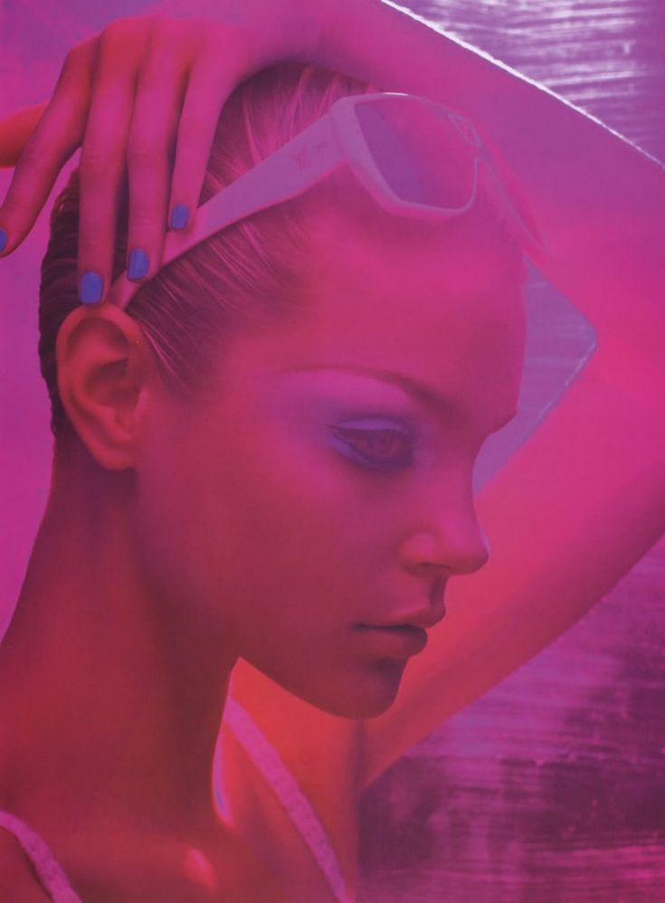 Jessica Stam in 'Levitation' by Solve Sundsbo.