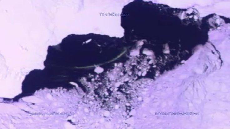 Огромный неопознанный подводный объект в форме змеи, Антарктида