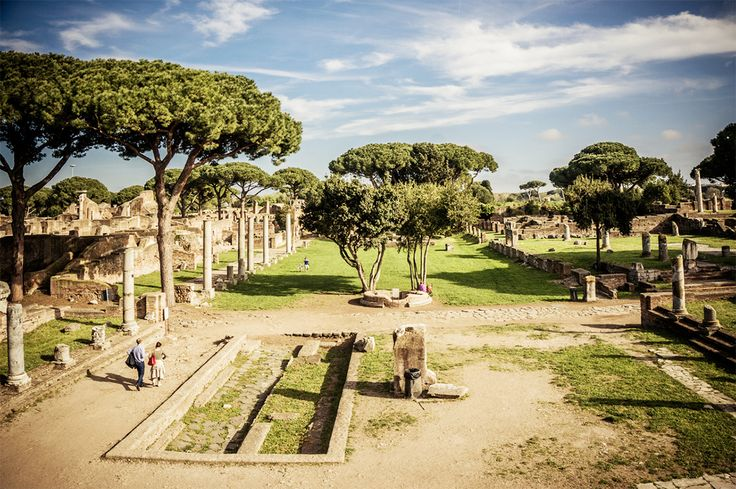 Skip the ruins of Pompeii, visit OSTIA ANTICA: Pompeii—though an impressive and vast site of ancient history—is packed with tourists and a very long way from Rome for a mere day trip. Ostia Antica, a comparatively swift trip and smaller in scale, is similarly well preserved and wonderfully atmospheric, and it's fascinating to imagine what daily life might have been like in an ancient Roman town. For a day trip, it's simply more manageable.