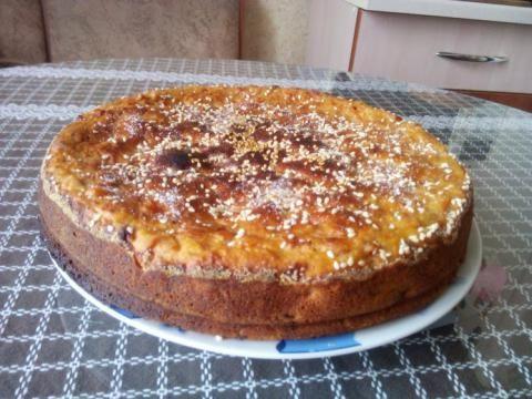 Пирог с тыквой.