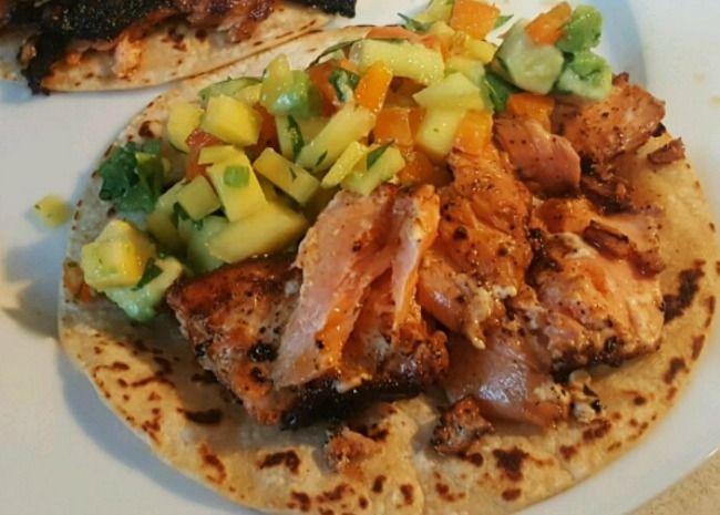 Best 25+ Mango avocado salsa ideas on Pinterest | Salmon ...