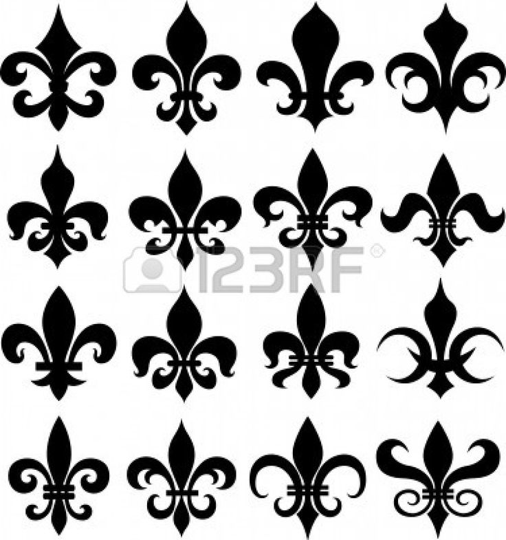 Fleur De Lis, Tasteful Tattoos, Shield Design