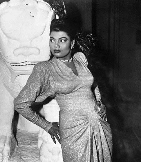 The legendary Pearl Bailey - She is so striking in this picture. I don't remember ever seeing a photo of her in her early days