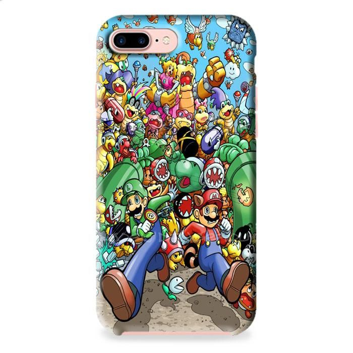 Super Mario Old Game iPhone 7 3D Case Dewantary