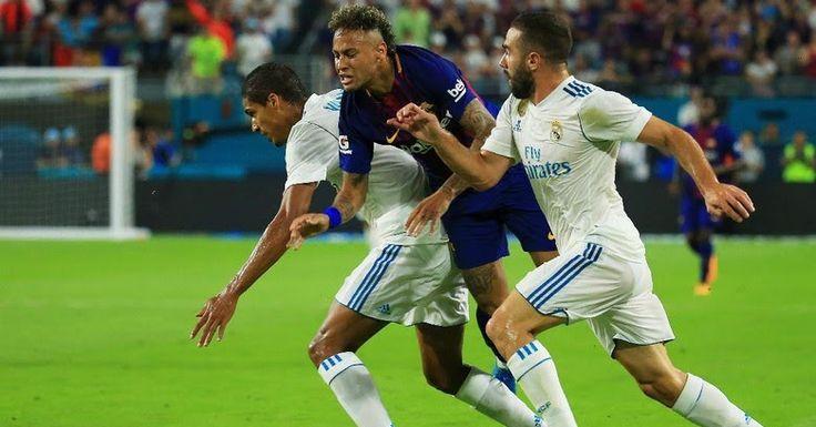 Barcelona Tundukkan Madrid 3-2  ForumViral.com - Barcelona Berhasil mengatasi Lawan rival abadinya Real Madrid di ajang International Champions Cup 2017 . Barcelona Menang tipis 3 - 2 atas Real Madrid .   #Barcelona  #Real Madrid #Madrid #Berita Viral #Berita Terkini #Berita Online #Berita Terpercaya #Forum Viral Berita #Berita Terupdate #Viral #Forum #berita #Hoax #Meme #Indonesia  selengkapnya http://www.forumviral.com/2017/07/barcelona-tundukkan-madrid-3-2.html