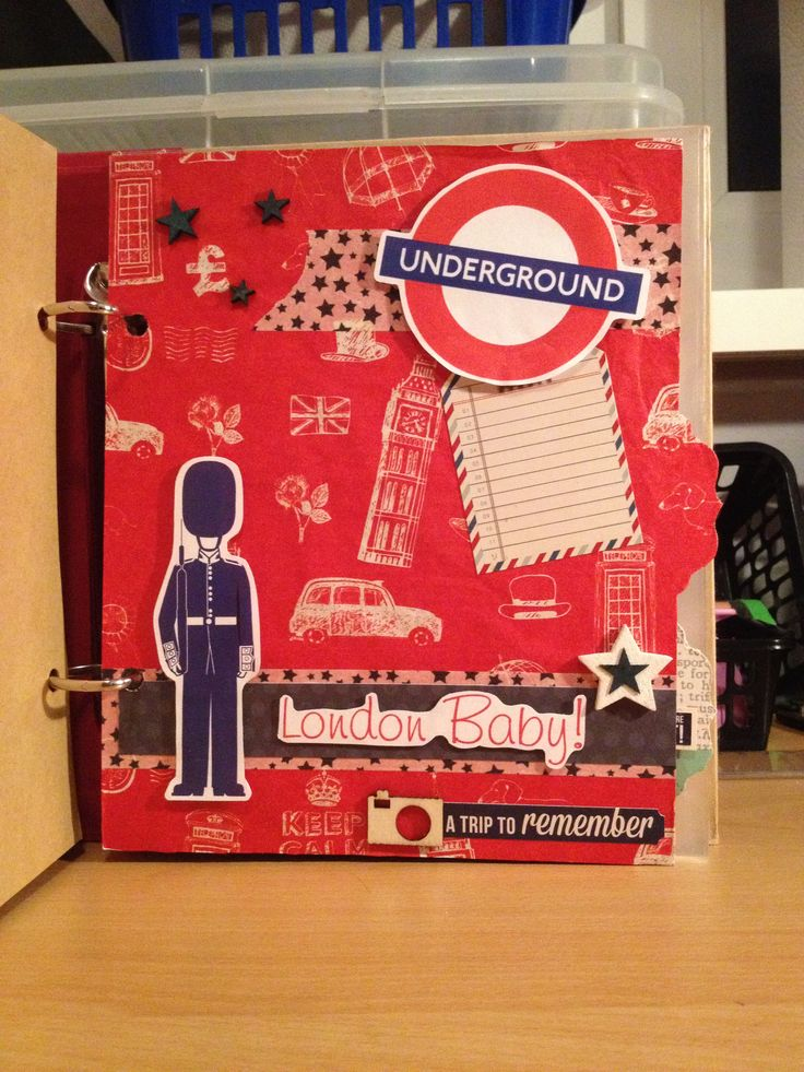 London scrapbook tab